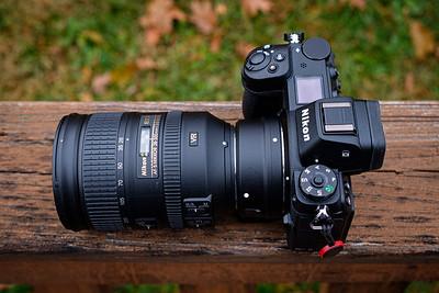 Nikon Z7 with Nikon 28-300 & FTZ Adapter