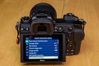 Nikon Z7 w/24-70mm f/4