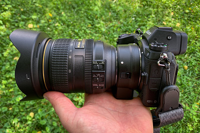 Z7 with Nikon 24-120mm f/4 F Mount Lens