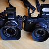 Olympus E-M5 & Nikon V1 Size