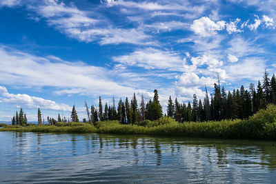 Lake Yellowstone Island