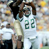 "Paul Richardson of CU, gets the ball knocked away by Elijah-Blu Smith of CSU.<br /> For more photos of the CU game, go to  <a href=""http://www.dailycamera.com"">http://www.dailycamera.com</a>.<br />  Cliff Grassmick / September 17, 2011"