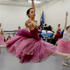 "Daphne Takahashi performs a jump during one of the dance scenes of ""The Nutcracker.""<br /> The Boulder Ballet Company is performing ""The Nutcracker.""<br /> Cliff Grassmick / November 19, 2011"