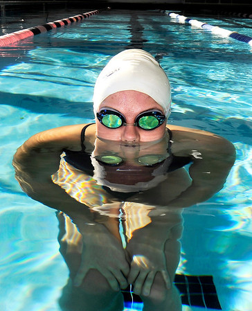 High School senior Kourtney Fosse in the pool on Sunday, Nov. 27, at Rally Sport Health and Fitness Club in Boulder.<br /> Jeremy Papasso/ Camera