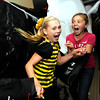 "HALLOWEENYMCA213.JPG Mahri Hereid, 10, at left and Sophie Moellenberg let out a scream in the haunted house at the  Halloween Party at the Arapahoe Center YMCA in Lafayette. For more photos of the halloween party go to  <a href=""http://www.dailycamera.com"">http://www.dailycamera.com</a><br /> Photo by Paul Aiken Monday Oct 24, 2011"