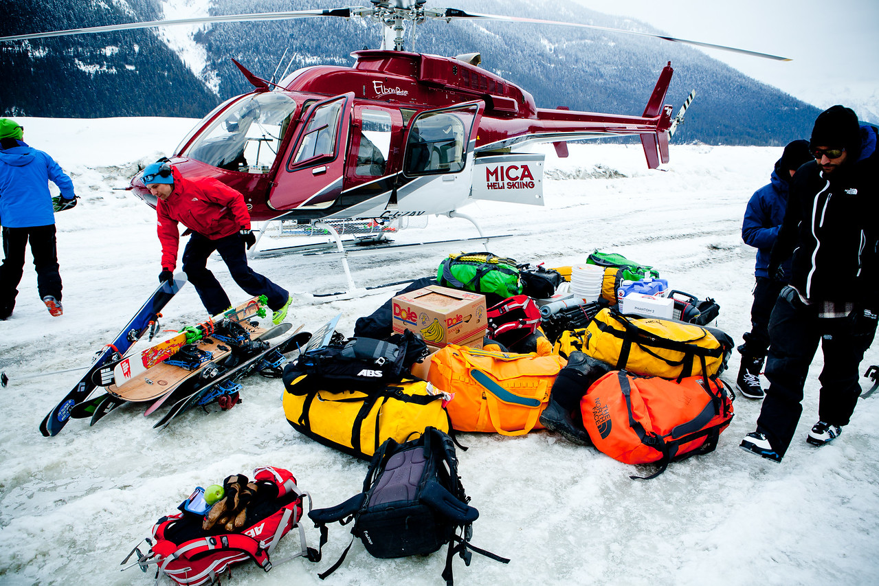 Client :The North Face - Steep Series campaign - Mica, B.C.