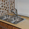 Installed a new kitchen faucet.