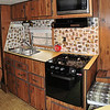 The vent hood and stove and oven have a new look.