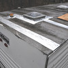 I'm taping all the seams on the roof with a self adhesive aluminum flashing, and in the spring I will repaint the roof with aluminum roof paint. That should keep it from ever leaking.
