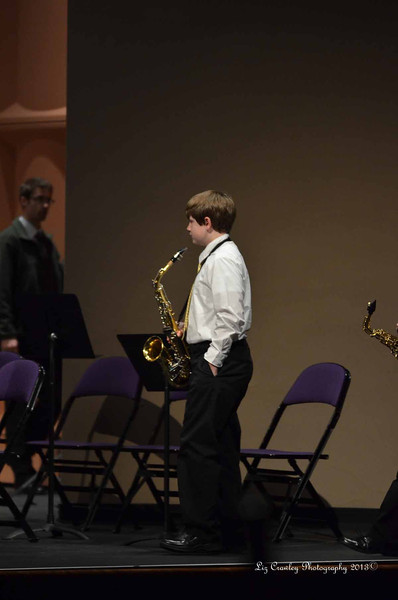 2.23.13 Region Band Concert - Middle School Band