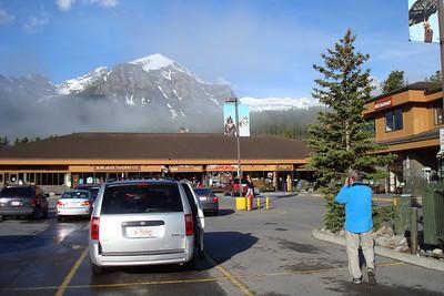 Quelques petites bricoles à acheter au minuscule supermarché de Lake Louise