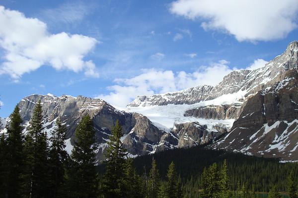 Crowfoot mountain, au Km 34