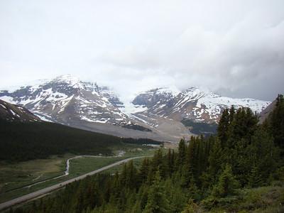 Au fur et à mesure de la montée, on voit de plus en plus de glaciers