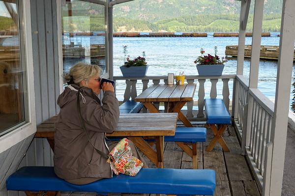 café à Brown bay, erreur de navigation!!