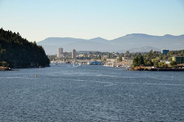 nous quittons l'île de Vancouver....sniff sniff.........