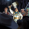 Indigenous artists performing at Calgary Stampede, Calgary, Alberta, Canada