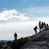 Hikers on Bears Hump Lookout, Waterton, Alberta, Canada
