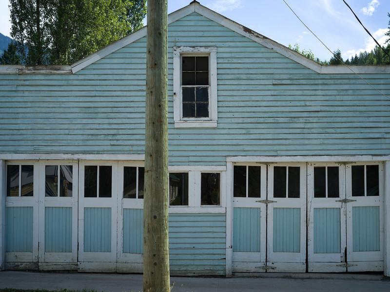 Faade of building, Nelson, British Columbia, Canada
