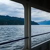 View from the Window of a Boat in lake, Crawford Bay, British Columbia, Canada