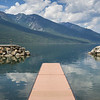 Pier over Kooteney Lake, Nelson, British Columbia, Canada