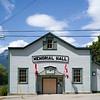 Faade of Memorial Hall, Nelson, British Columbia, Canada