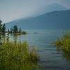 Scenic view of lake, Kootenay Lake, British Columbia, Canada