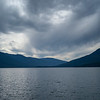 Scenic view of lake, Kootenay Lake, Boswell, British Columbia, Canada