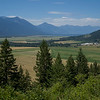 Scenic view of field, Creston, British Columbia, Canada
