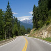 Trees along road, Nelson, British Columbia, Canada