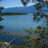 Scenic view of lake, Creston, British Columbia, Canada