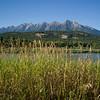River through landscape, Kootenay River, British Columbia, Canada