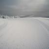 Skiing track Sun Peaks Resort, Sun Peaks, British Columbia, Canada