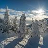 Snow Ghost in Sun Peaks Resort, Sun Peaks, British Columbia, Canada
