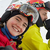 Portrait of a happy skier, Whistler, British Columbia, Canada