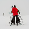 Ski trainer with a student, Whistler, British Columbia, Canada
