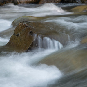 River flowing through rocks, Whistler, British Columbia, Canada