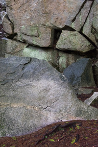 Close-up of rocks, Whistler, British Columbia, Canada