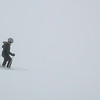 Tourists skiing, Whistler Blackcomb, Vancouver, British Columbia, Canada