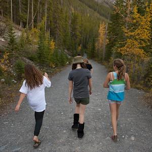 Grassi Lake Trail in Kananaskis Country, Alberta, Canada