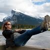 First Vermilion Lake in Banff National Park, Alberta