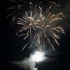 Canada Day firework display, Keewatin, Unorganized Kenora, Kenora, Lake of The Woods, Ontario, Canada