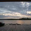 Scenic view of a lake, Kenora, Lake of the Woods, Ontario, Canada