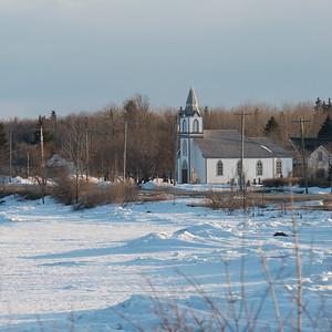 Hecla Church, Riverton, Hecla Grindstone Provincial Park, Manitoba, Canada