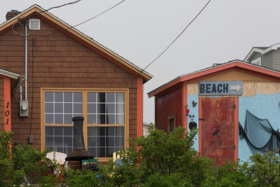 Houses in town, Louisbourg, Cape Breton Island, Nova Scotia, Canada