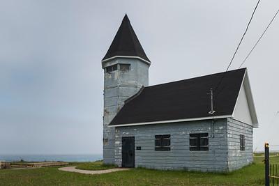 Fort Petrie in New Victoria, Cape Breton Island, Nova Scotia, Canada