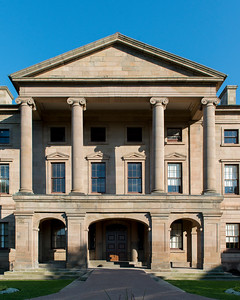 Facade of the Province House, Charlottetown, Prince Edward Island, Canada
