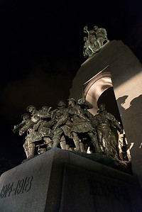 National War Memorial, Parliament Hill, Ottawa, Ontario, Canada