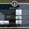 Close-up of Princes' Gages memorial plaque, Canadian National Exhibition Grounds, Toronto, Ontario, Canada