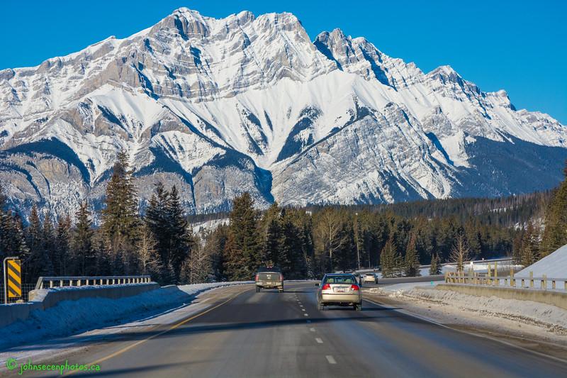 Roadtripping in Banff
