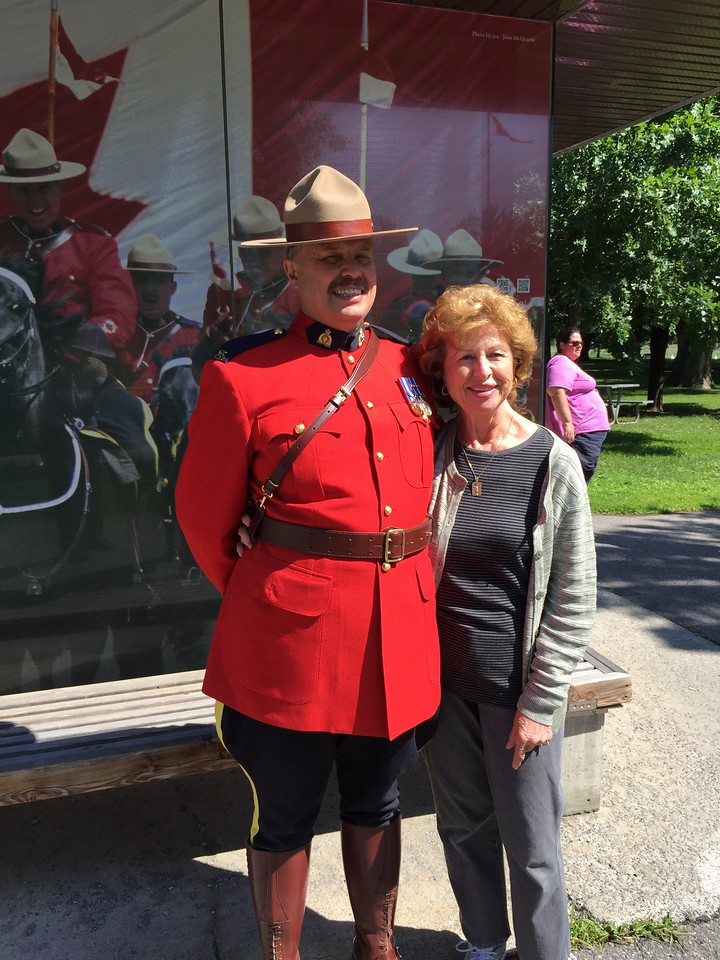 View the Royal Canadian Mounted Police Stables with Mounty Sargeant Bob, Montreal, Canada (Tauck Tours)